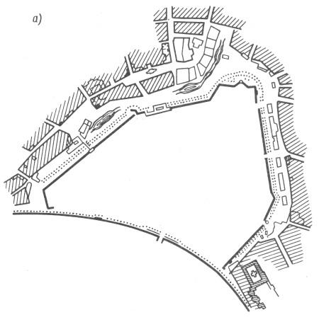 Схема бульвара вокруг