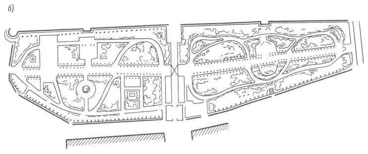 Схема бульвара вокруг Кремля и