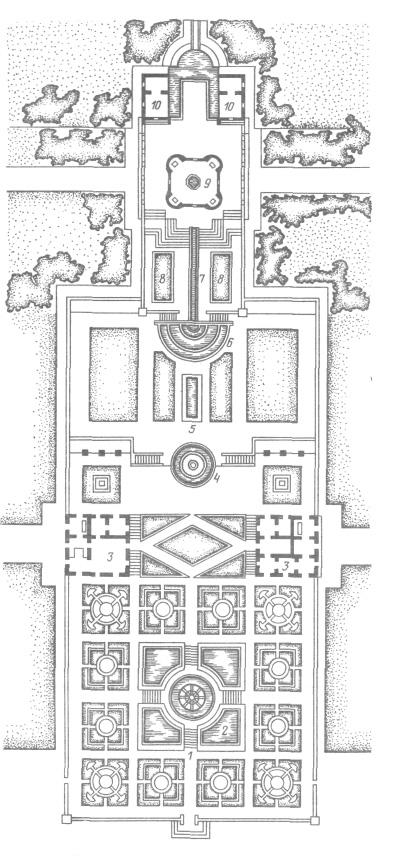 6 — Фонтан речных богов,
