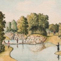 Парк в Богородицке под Тулой