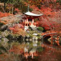 Сад «Четырех Времен Года» Самбоин. Монастырский комплекс Дайгодзи в Киото