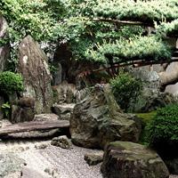 Сад храма Дайсэн-ин. Монастырский комплекс Дайтокудзи в Киото