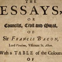 Francis Bacon. Essayes: Religious Meditations. Places of Perswasion and Disswasion. Seene and Allowed (1625). ХLVI. Of Gardens. Фрэнсис Бэкон. О садах. ХLVI (Опыты и наставления нравственные и политические)
