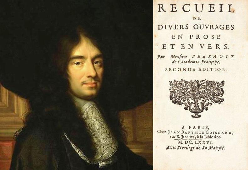 Charles Perrault. Recueil de divers ouvrages en prose et en vers. Версальский лабиринт. Шарль Перро. 1688