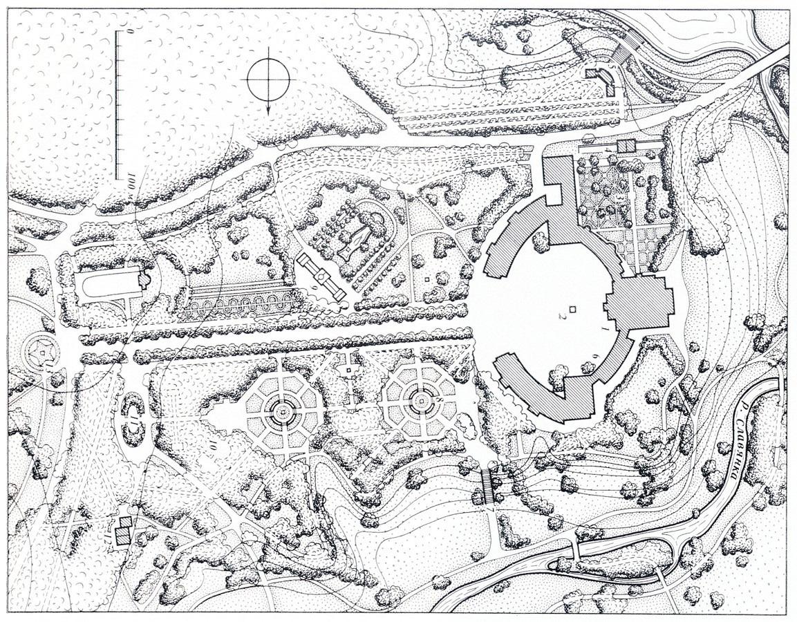 павловск схема дворца