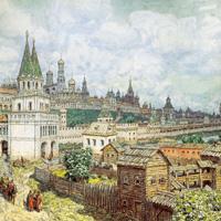 Русское садовое зодчество до XVIII века