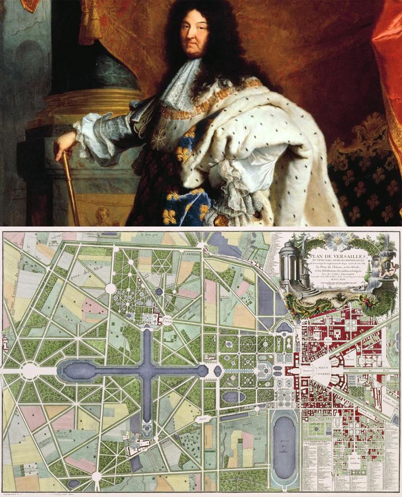 Людовик XIV. Как показывать версальские сады. Louis XIV. Maniere de montrer les Jardins de Versailles