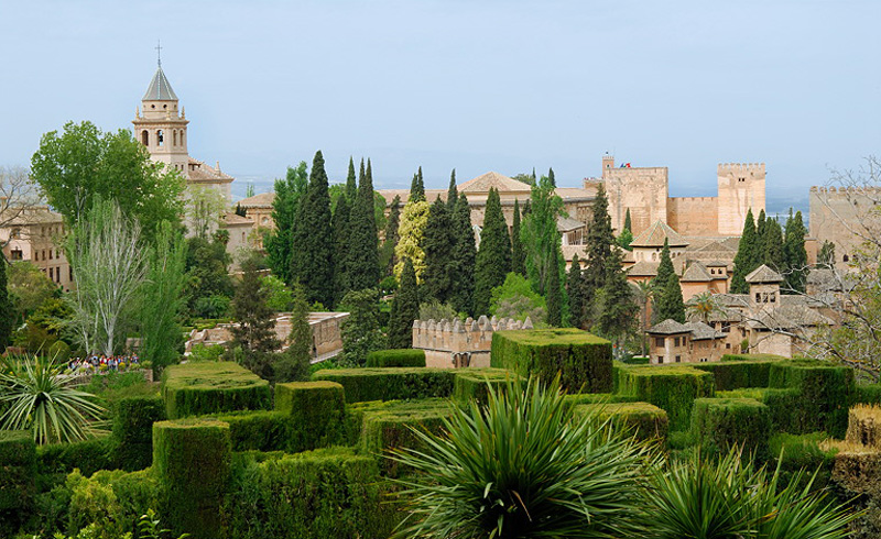 Сады Гранады. Альгамбра и Генералиф
