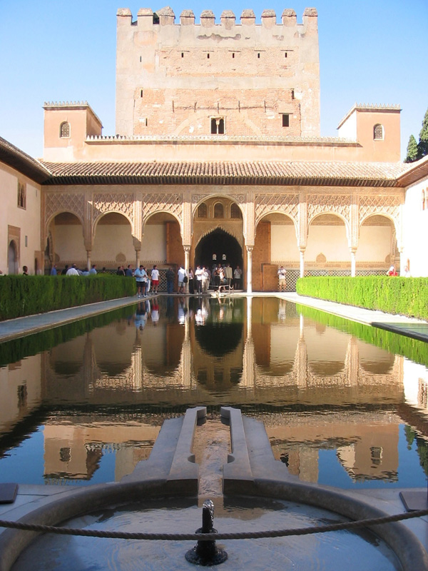 Миртовый дворик. Альгамбра. Alhambra. Patio de los Arrayanes