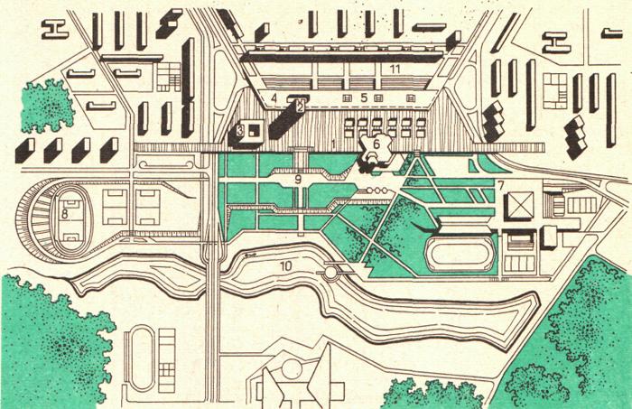 Генеральный план центра