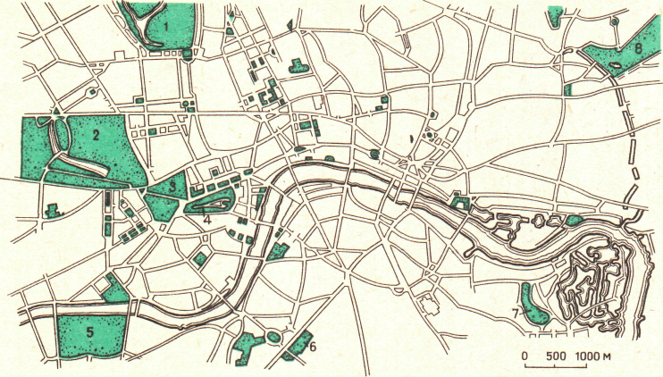 Система парков центральной
