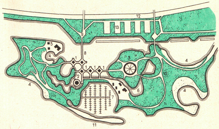 Рис. 5.3. Спортивно-выставочный гидропарк, созданный в акватории озера Онтарио в Торонто
