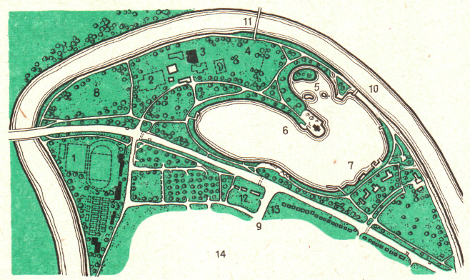 Гидропарк в Штутгарте