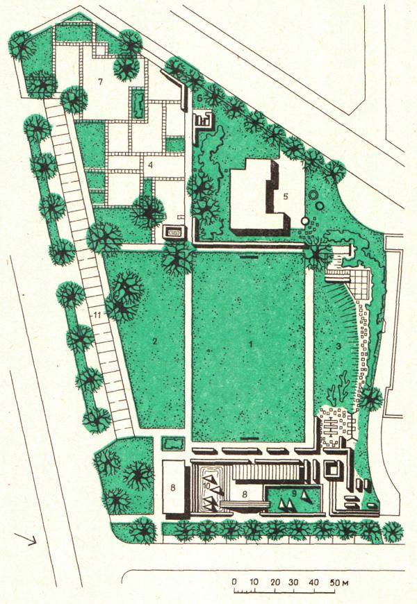 Ландшафтная архитектура детские площадка