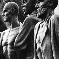 Бухенвальд. Фриц Кремер. Памятник. Фрагмент