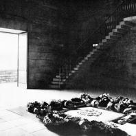 Бухенвальд. Интерьер Башни Освобождения