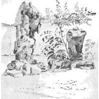 6. Декоративные камни «Бутон облаков» в парке Лю-юань города Сучжоу