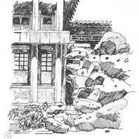 9. Павильон среди камней в парке Бэйхай, Пекин