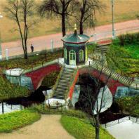 Царское Село. Александровский парк. Крестовый мост. Фото: tsarselo.ru