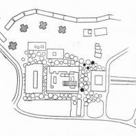 План размещения фонтанов на территории торгового центра
