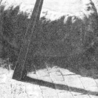 Питьевой фонтан. Чаша решена в виде каменного массива из агломерата, вода, переливаясь через края чаши, впитывается в дренирующий отмост. Швейцария