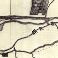Петергофский водовод. Чертеж XVIII века
