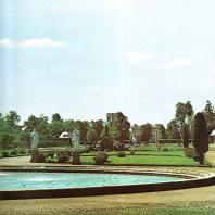Петергоф. Панорама Верхнего сада