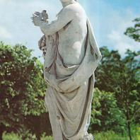 Петергоф. Верхний сад. Вертумн. 1757. Мрамор. Скульптор Дж. Бонацца