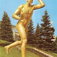 Петергоф. Актеон. 1801. Золоченая бронза. Скульптор И. Мартос