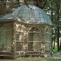 Петергоф. Западный вольер. 1721 —1722. Деревянный купольный павильон-птичник