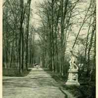 Царское Село. Екатерининский парк. Скульптура «Амфитрита»