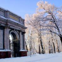 Царское Село. Екатерининский парк. Гатчинские ворота. Фото: tsarselo.ru