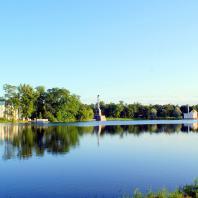 Царское Село. Екатерининский парк. Зал на острове Большого пруда. Фото: tsarselo.ru