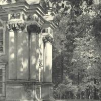 Царское Село. Екатерининский парк. Эрмитаж. Фрагмент фасада. Фотограф М.А. Величко