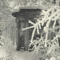 Царское Село. Екатерининский парк. Кухня-руина. Фотограф М.А. Величко