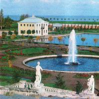 Петергоф. Вид с «Золотой горы»