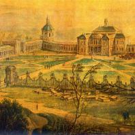 Ломоносов (Ораниенбаум). Акварель