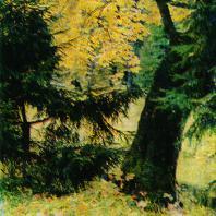 Ломоносов (Ораниенбаум). Осенний пейзаж