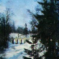 Ломоносов (Ораниенбаум). Парк зимой