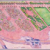 Ломоносов (Ораниенбаум). Большой дворец. Регулярный сад