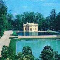 Пушкин (Царское Село). Екатерининский сад. Верхняя ванна