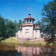 Пушкин (Царское Село). Китайская беседка