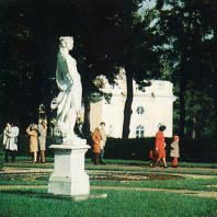 Пушкин (Царское Село). В парке около Верхней ванны