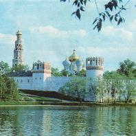 Пруд Новодевичьего монастыря