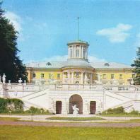 Архангельское. Вид на дворец с юга, от большого партера