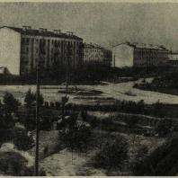 Сталинград. Озеленение рабочего поселка «Баррикады»