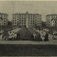 Ленинград. Озеленение квартала в Володарском районе