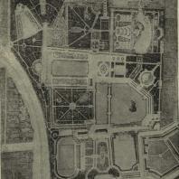 Ярославль. Проект планировки парка. Генплан (арх. Е.А. Юрьев. Госзеленстрой)