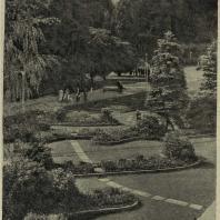 Садовая выставка 1933 г. в Цюрихе. Уголок лесопарка