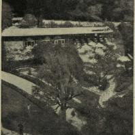 Садовая выставка 1933 г. в Цюрихе. Кафе в лесопарке
